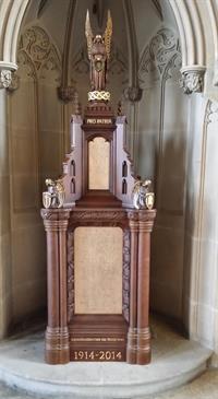 Blackburn Cathedral war memorial