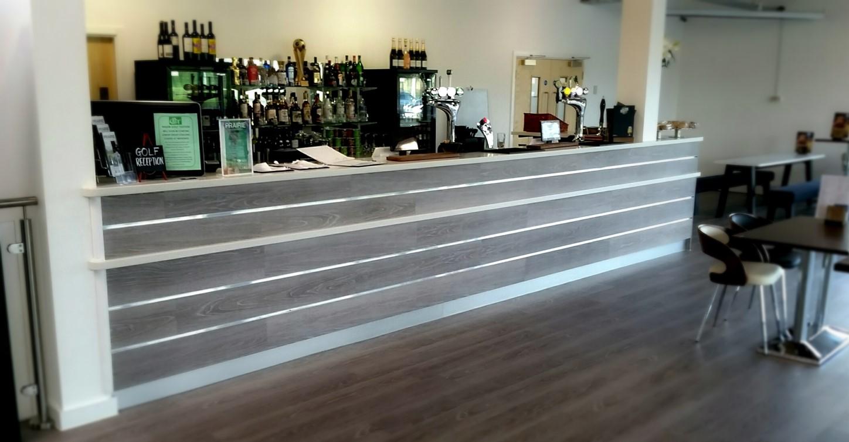 Bar reception counter