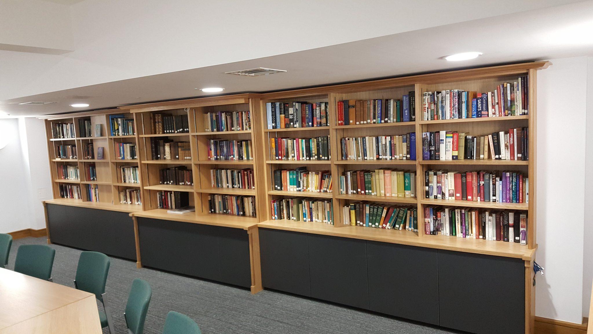 Blackburn Cathedral Bespoke Library