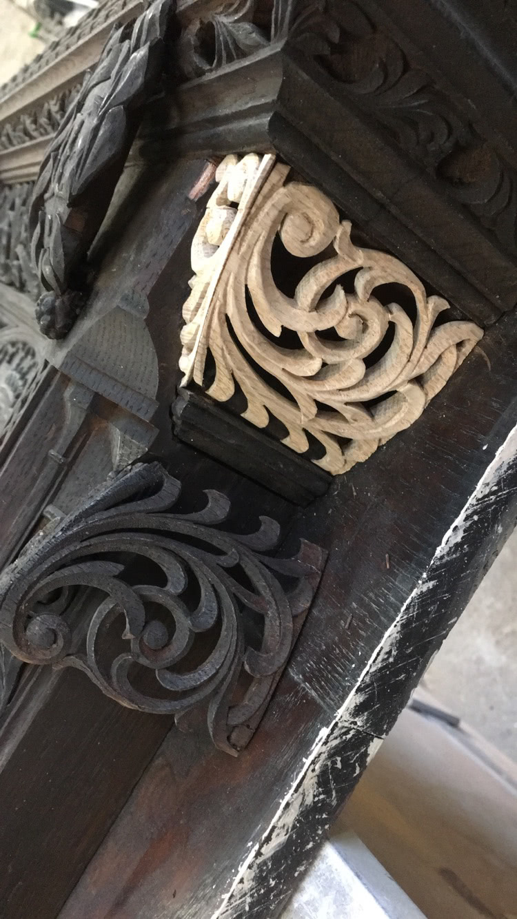 Samlesbury Hall restoration