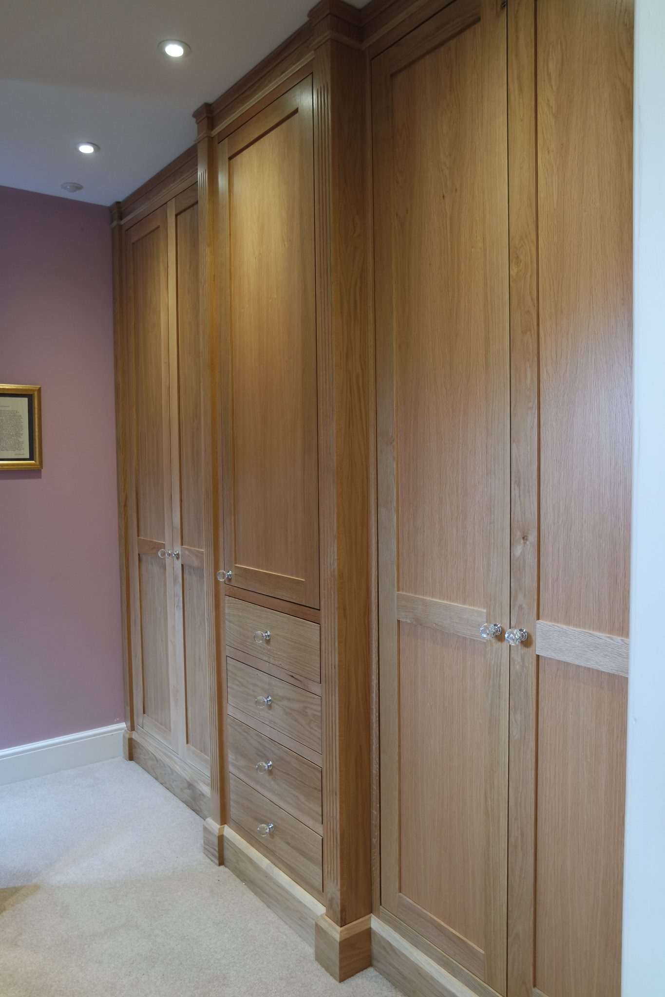Oak Fitted bedrooms