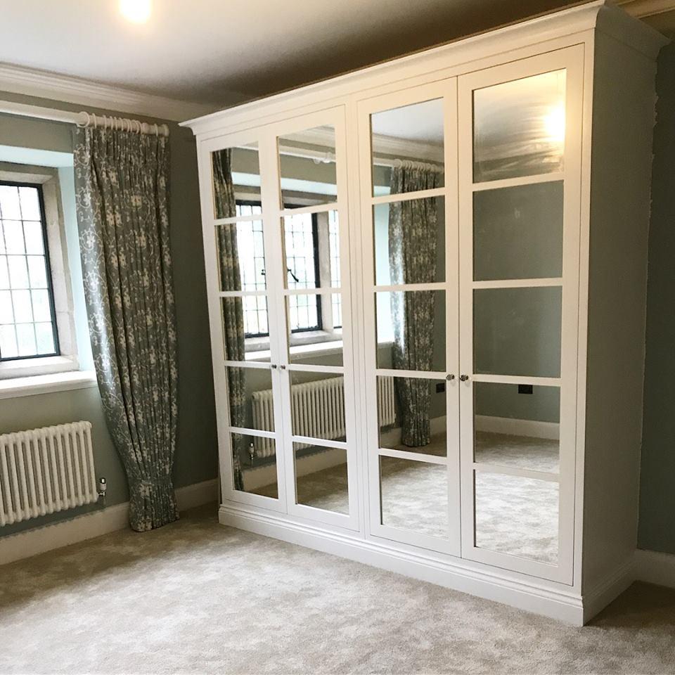 Bespoke mirror wardrobe