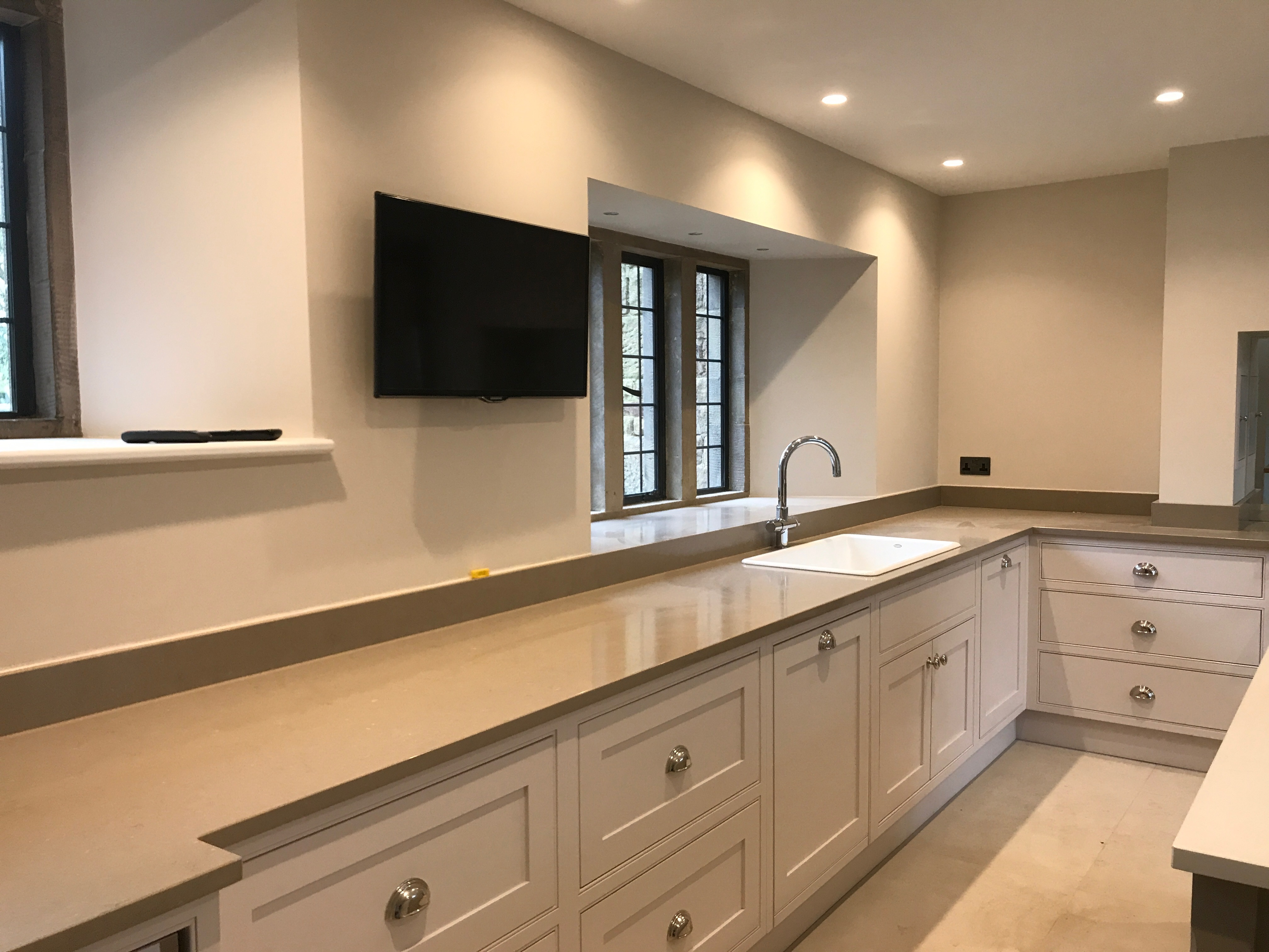 Hand built Kitchen with Wolf range