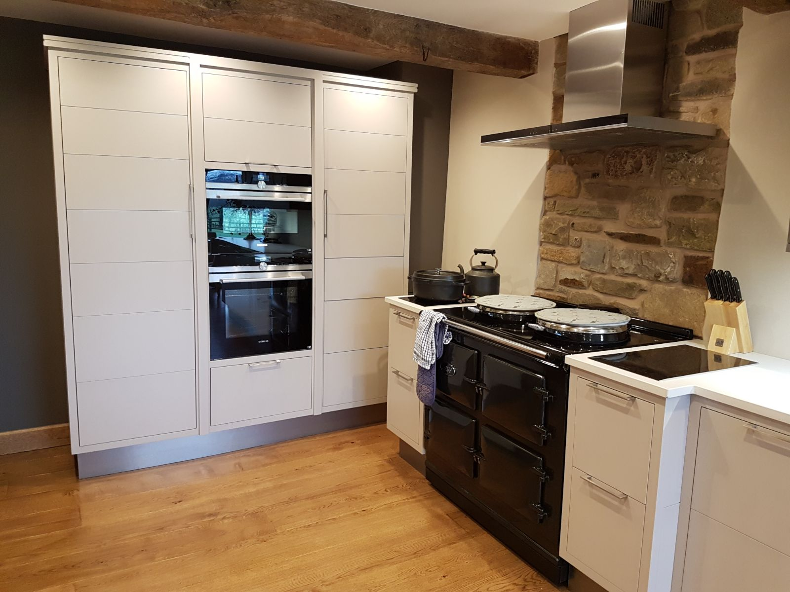 Classic hand built kitchen